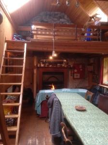 and wonderful platform sleeping areas!
